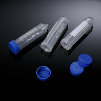 50ml Centrifuge Tubes, Flat-top cap, PP, Conical, sterile, bulk pack, 50 Tubes/Bag, 10 Bags/Case